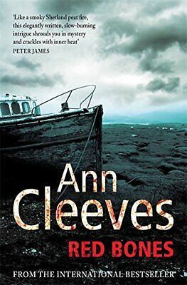Red Bones (Shetland) by Cleeves, Ann Paperback Book The Fast Free Shipping