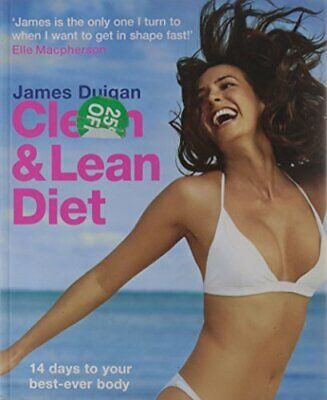 Clean and Lean Diet by James Duigan Paperback Book The Fast Free Shipping