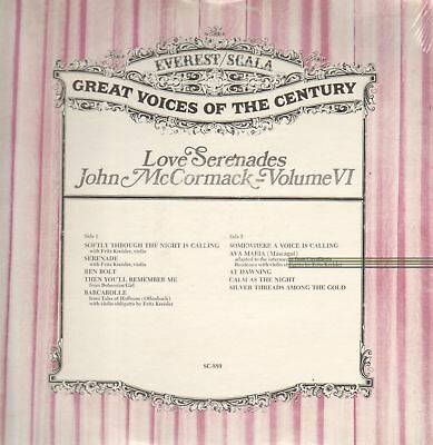 LP John McCormack Love serenades (Great Voices of the Century) STILL SEALED