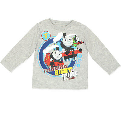 Thomas the Train Boys Long Sleeve Tee (Toddler) 7FT6320