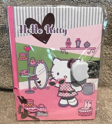 Sanrio Hello Kitty Diary 2007 Lock & Key New Sealed