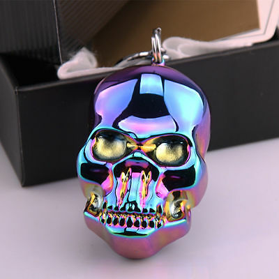 Lighter Skull Electric Rechargeable Windproof Flameless USB Cigarette