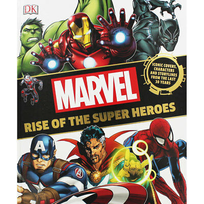 Marvel - Rise Of The Superheroes, Fiction Books, Brand New