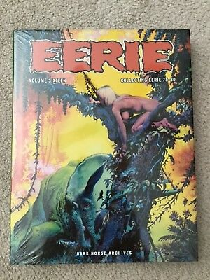 Eerie Archives Volume 16 Hardcover Book - Dark Horse Archives - Sealed - Damaged