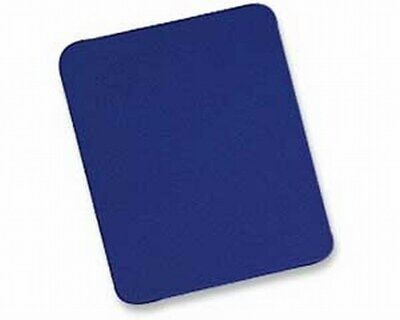 BLUE Fabric Mouse Mat - Foam Backed - High Quality 5mm