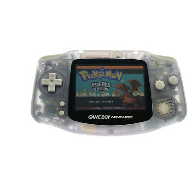 Glacier Game Boy Advance Console GBA Console AGS-101 Backlight Backlit Screen