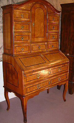 18th Century Fruitwood Bureau cabinet, Bonheur du jour, dating from c 1750.