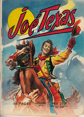 Joe Texas N° 1 De 1957 Collection Les Belles Aventures
