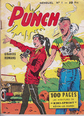Punch N° 1 Avril 1958