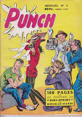 Punch N° 5 Aout 1958