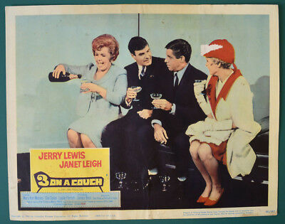3 ON A COUCH (1966) Original USA Cinema Lobby Card - Jerry Lewis, Janet Leigh