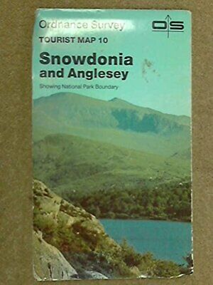 Ordnance Survey Tourist Map 10: Snowdonia and Anglesey..Sh... by Ordnance Survey