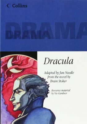 Collins Drama – Dracula: Playscript by Stoker, Bram Paperback Book The Fast Free