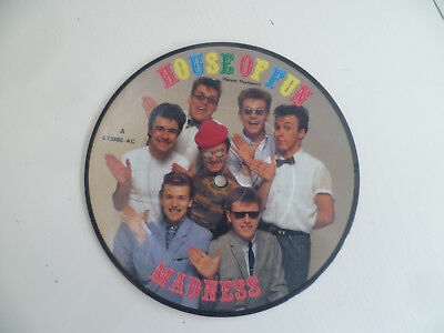 "7"" 1982 SKA PICTURE VINYL MINT-! MADNESS : House Of Fun"