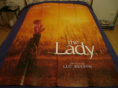Affiche   Luc Besson / Michelle Yeoh / The Lady