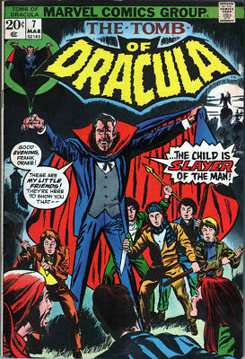 Marvel The Tomb of Dracula #7 (1973) - No stock images
