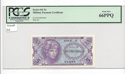 MPC Series 611  5  Cents  GEM UNC