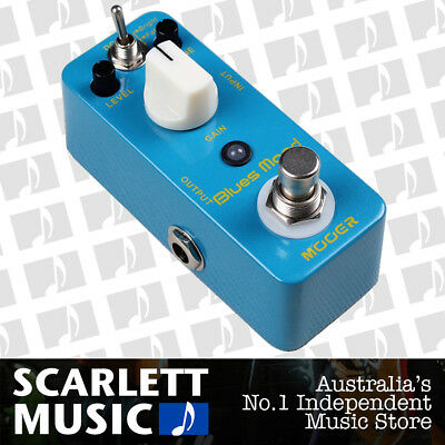 Mooer Blues Mood Overdrive Micro Electric Guitar Pedal - w/12 Months Warranty.