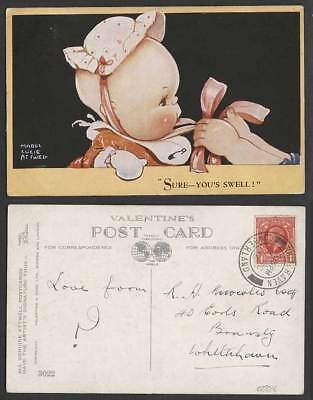MABEL LUCIE ATTWELL 1936 Old Postcard Sure You's Swell Children Little Baby 3022