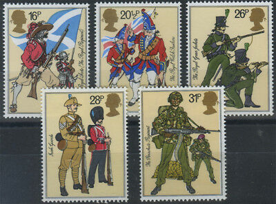 SG 1218-22 1983 Army Superb unmounted mint