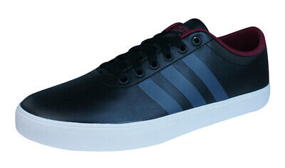 ADIDAS EASY VULC 2.0 Black Canvas BB7209 Casual Trainers Size UK 7 ... 7fd60ff30
