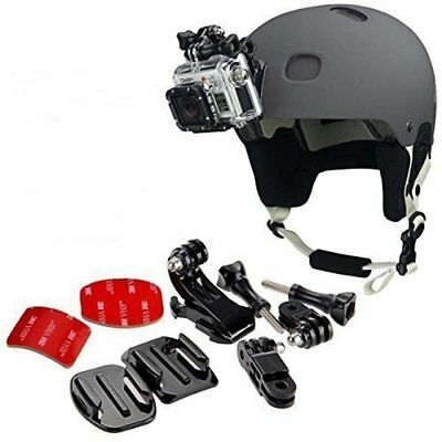 9 in 1 Helmet Front Side Quick Clip Mount Kit for GoPro Hero 6 5 4 3 2 Session
