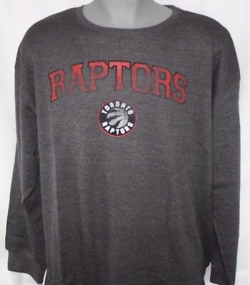 NEW Mens MAJESTIC Toronto Raptors Long Sleeve Big and Tall NBA Thermal Shirt
