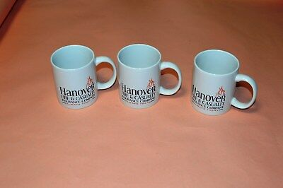 3 New Hanover Fire And Casualty Insurance Company Mugs