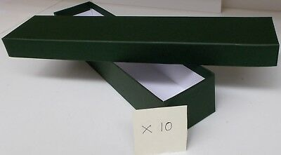 Loco/Locomotive Storage Boxes, Large (Green) with Lids x 10 - New.