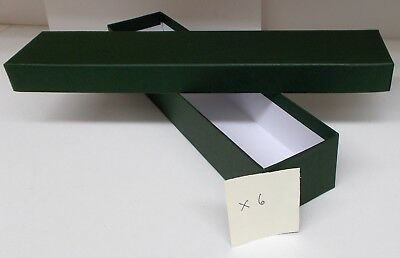 Loco/Locomotive Storage Boxes, Large (Green) with Lids x 6 - New.