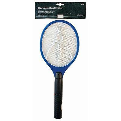 Electronic Bug Wasp Swatter Zapper Insect Fly Mosquito Killer Bat Racket Camping