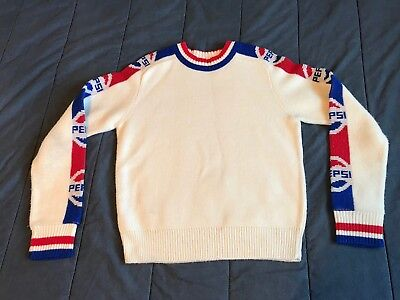 Vintage Pepsi Sweater Acrylic Medium