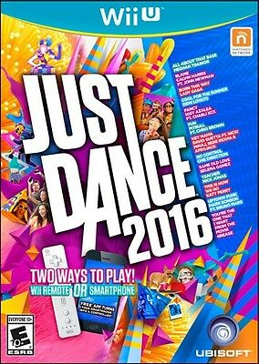Nintendo Wii U Just Dance 2016 NEW Sealed for N&S America USA Game NEW NEW