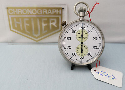 Heuer Ref. 915 Stoppuhr Stopwatch Chronograph Vintage Tag Heuer Total Revision