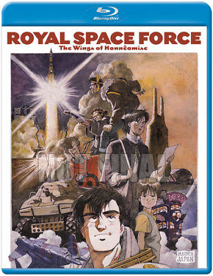 Royal Space Force - The Wings of Honneamise (Blu-ray Disc, 2013)