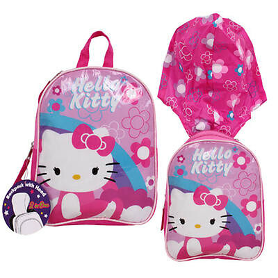 Sanrio HELLO KITTY TODDLER GIRLS SCHOOL BACKPACK PURSE BAG NWT