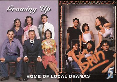 TV Shows Growing Up & Spin postcard 2000 NM/Mint condition