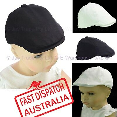 Baby Toddler Boy Baptism Christening Wedding Ivy Flat Newsboy Pageboy Cap Hat