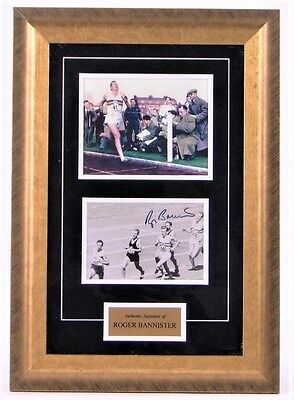 Roger Bannister - Hand-Signed & Authenticated - 1954