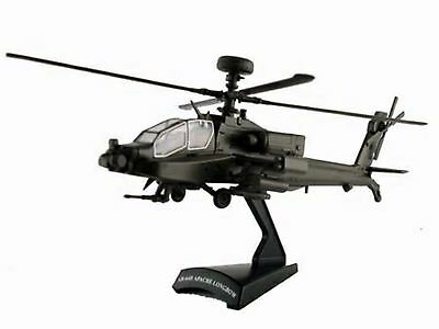 Model Power US Army AH-64D Apache Longbow Helicopter Postage Stamp 1:100 scale
