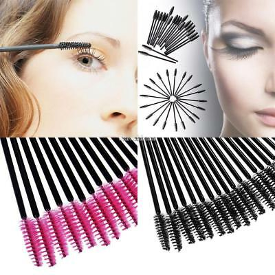 50 Pcs/Set Women Mascara Brushes Wands Lashes Disposable Eyelash Extension SH