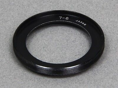 SERIES VII 7 Thread to SERIES VI 6 Filter Thread METAL STEP-DOWN ADAPTER RING