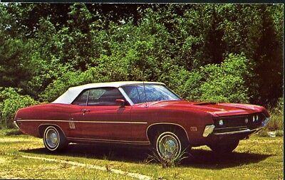 Postcard, 1970 Ford Torino, Unused, (909