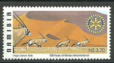 Namibia - 100 Years Rotary International mint 2005 Mi. 1151
