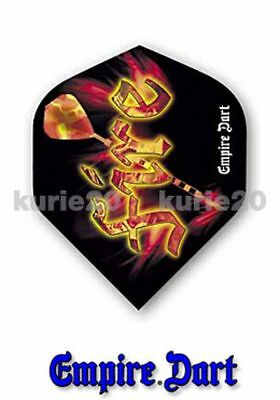 Empire Dart Flys Dart Flights extra strong Fire 5 Satz,15 St.