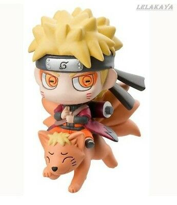 New Anime Uzumaki Naruto Mh Limited Q Edition Nine Fox Model Immortal figure NB