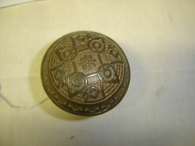 Antique Eastlake Brass Single Door Knob      7083