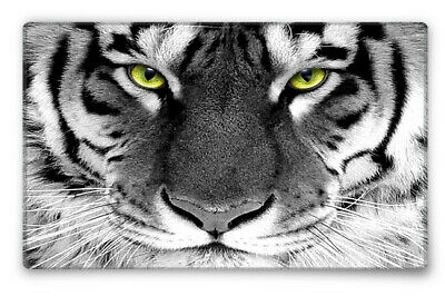 Silent Monsters Gaming und Office Mauspad 24 x 20 cm, Mousepad Design: Tiger