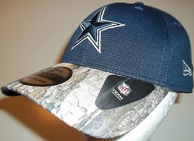 92a2b50e2 New Era 39Thirty Dallas Cowboys NFL Football Cap Hat Camo Bill True Timber  M L