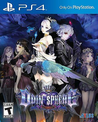 Odin Sphere Leifthrasir [PlayStation 4 Sony PS4, Anime, RPG, Action, Fighting]